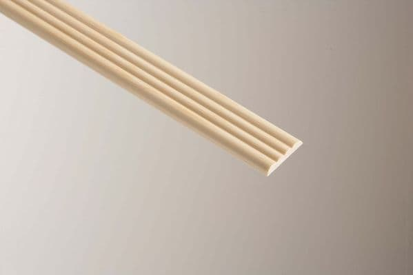 Cheshire Mouldings 4 Reed Pine - 6 x 34mm x 2.4m